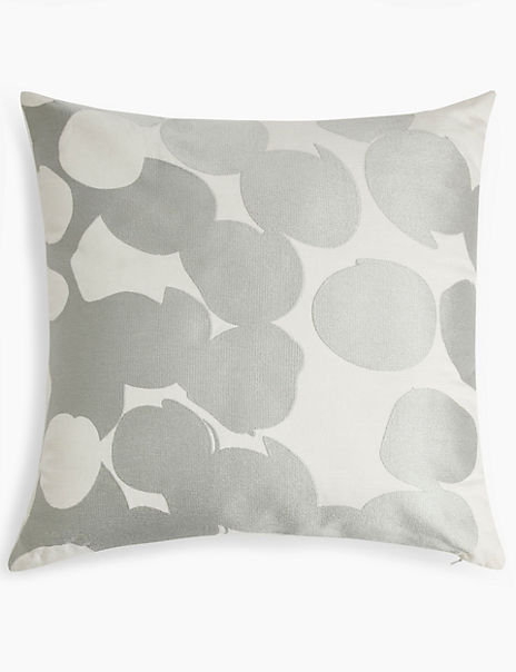 Hugo Embroidered Bubble Cushion