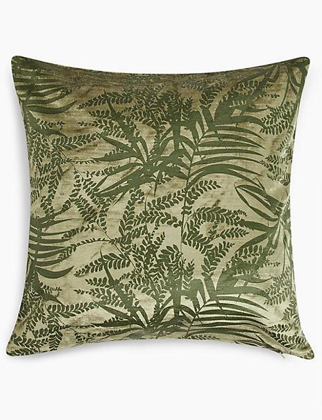 Faye Textured Fern Cushion