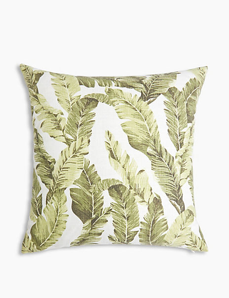 Farra Tropical Leaf Cushion