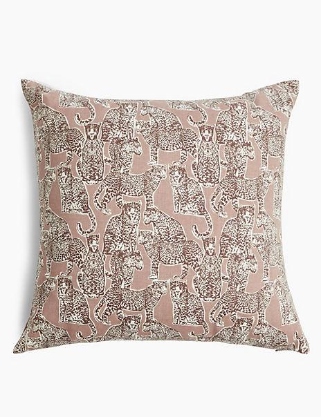 Cheetah Print Cushion