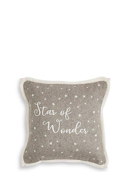 Star of Wonder Light up Cushion