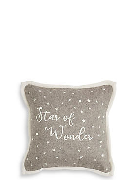 Star of Wonder Light up Cushion