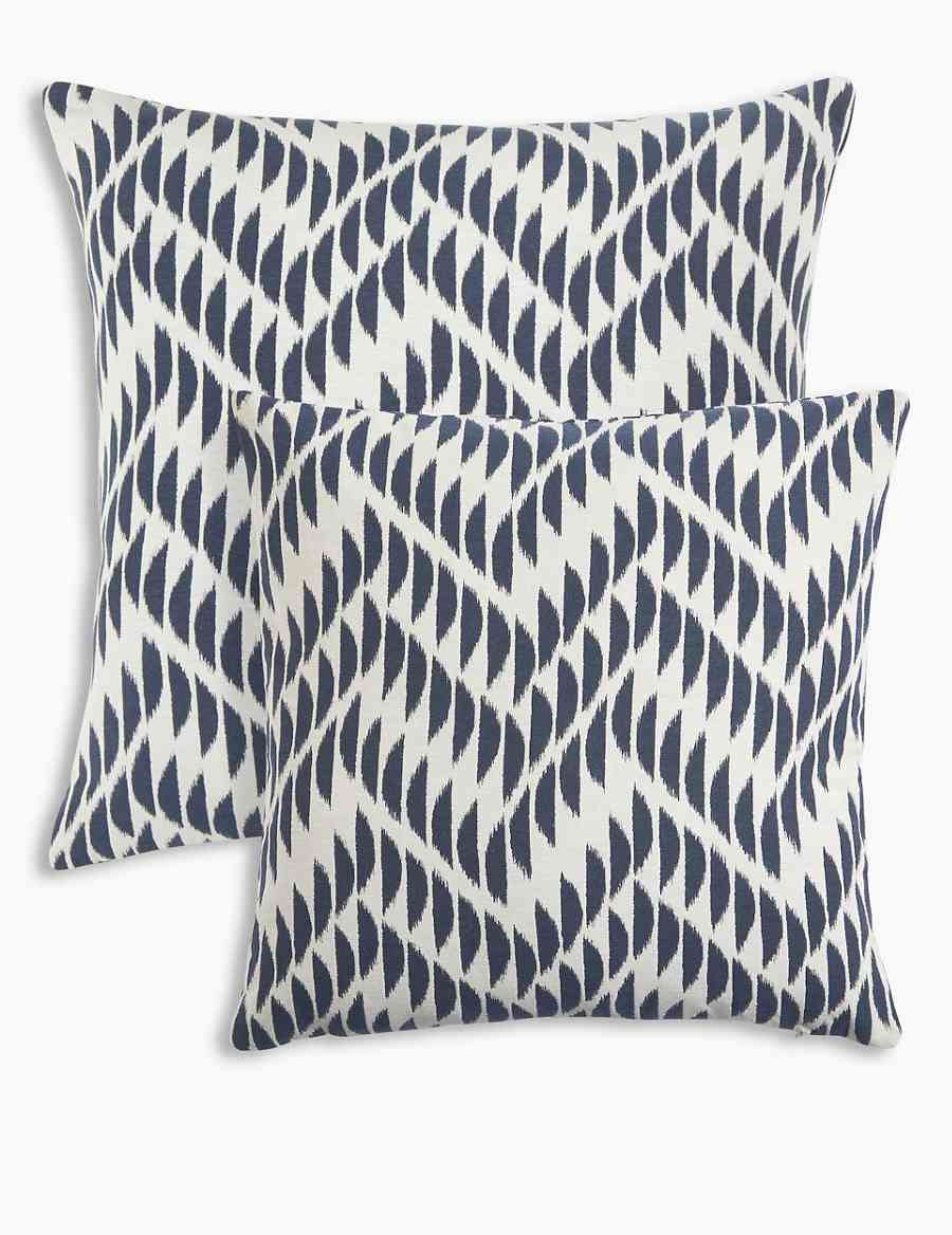 Crescent Chevron Cushion  c21448752