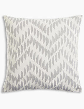 Crescent Chevron Cushion