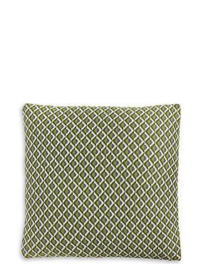 Modern Fine Knit Cushion