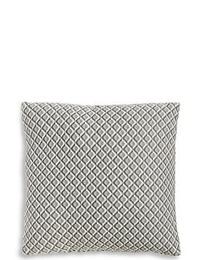 Modern Fine Knit Cushion
