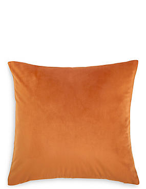 Velvet Linen Reversible Cushion