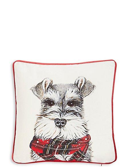 Printed Dog Cushion
