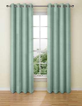 Cotton Rich Eyelet Curtain