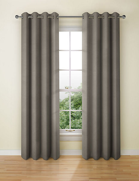 Cotton Rich Eyelet Curtains