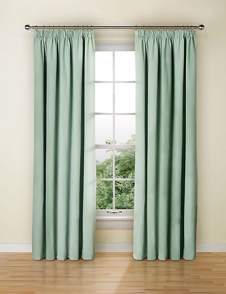 Blackout Thermal Pencil Pleat Curtains