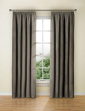 Blackout Thermal Pencil Pleat Curtain