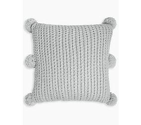 Chunky Pom Pom Cushion