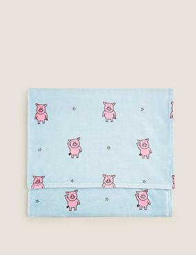 Percy Pig™ Fleece Throw