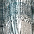 Cosy Checked Eyelet Curtains, DUCK EGG, swatch