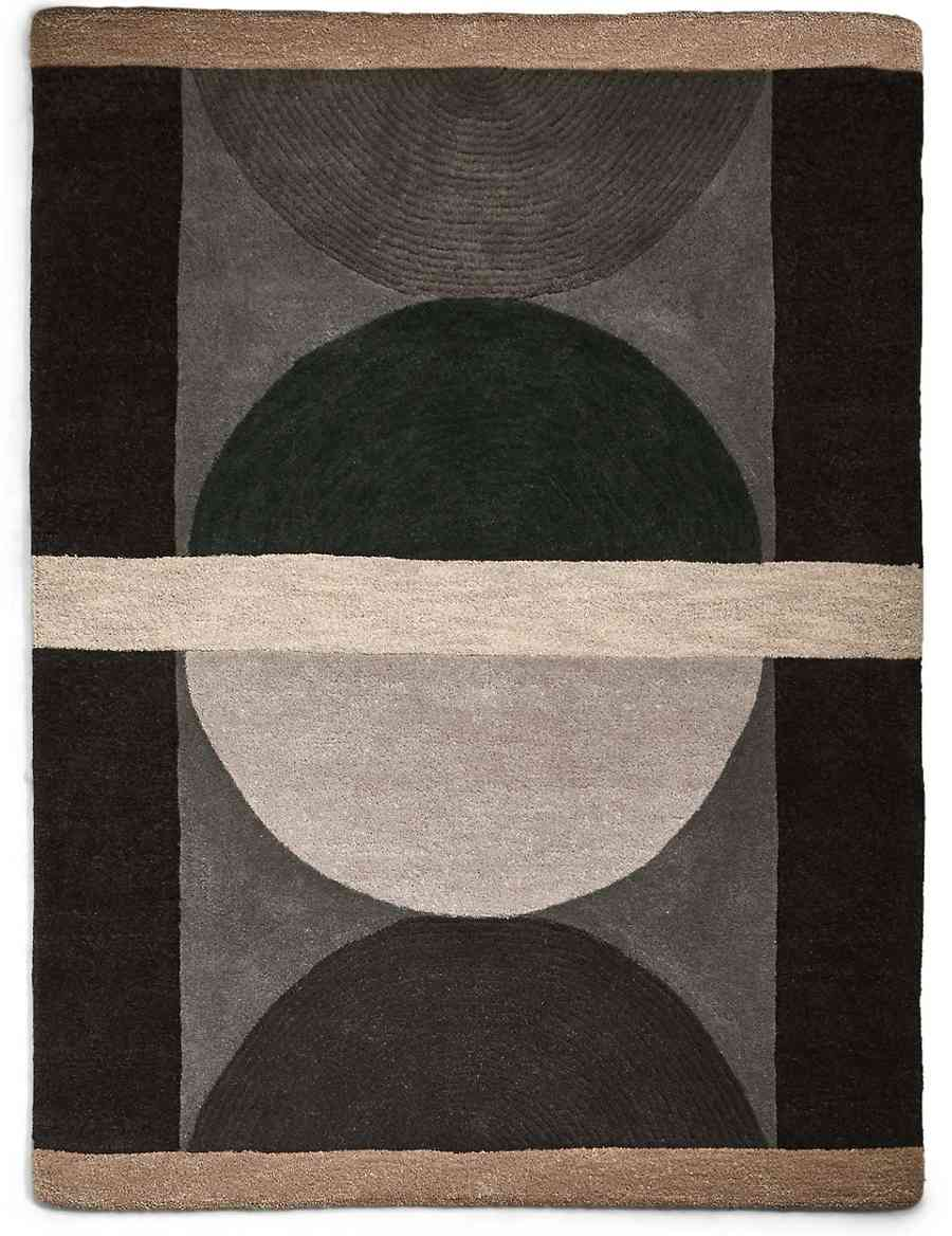 Pure Wool Conran Semi Circles Rug