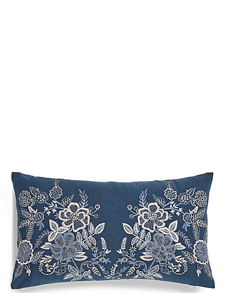 Erin Embroidered Cushion