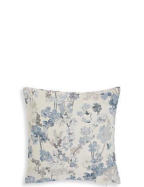 Vintage Floral Jacquard Cushion