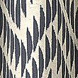 Crescent Chevron Eyelet Curtains, NAVY MIX, swatch