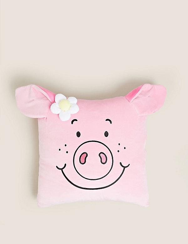 Velvet Penny Pig™ Cushion
