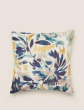 Pure Cotton Floral Cushion Cover