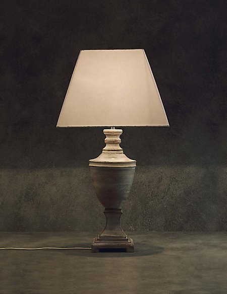 Square Urn Table Lamp