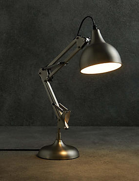 Metallic Task Lamp