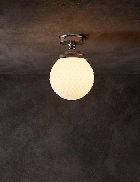 Melody Bathroom Flush Ceiling Light