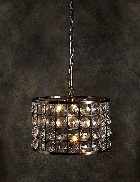 Leah Cylinder Pendant