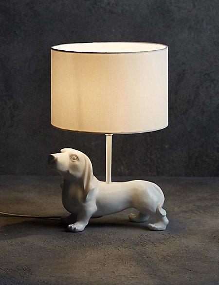 Dexter Dog Table Lamp