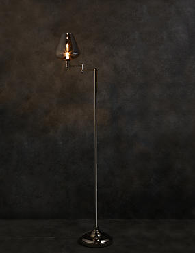 Cass Swing Arm Floor Lamp
