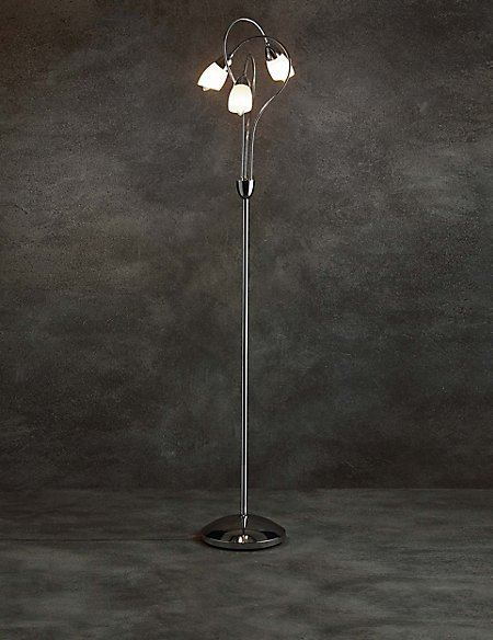 Andrea 3 light floor lamp