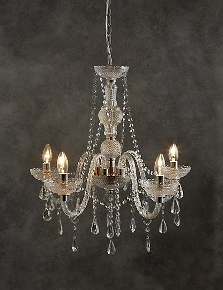 Lea 5 Light Chandelier