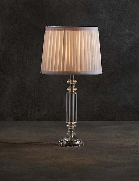 Lori crystal column table lamp ms lori crystal column table lamp aloadofball Choice Image