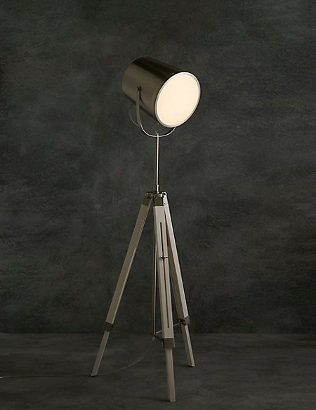 Devon Camera Floor Lamp