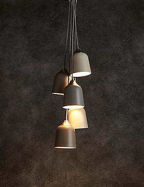 5 Light Cluster Ceiling Pendant
