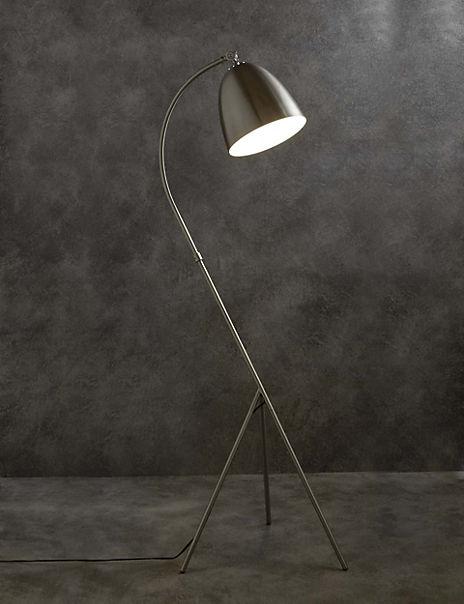 Leaning Tripod Floor Lamp