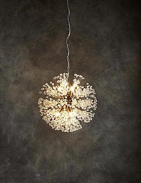 Belle Crystal Sputnik Pendant