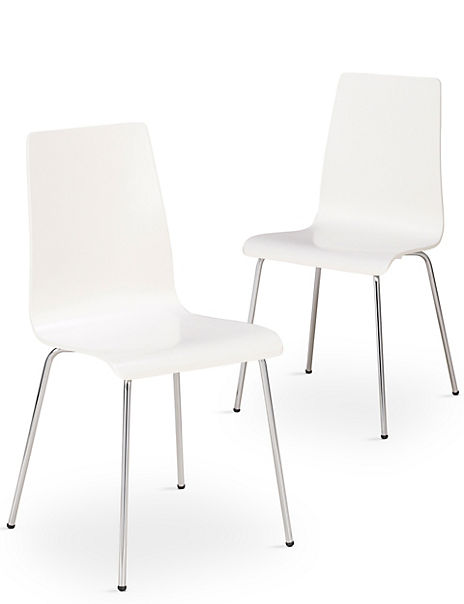 2 Hastings Living Dining Chairs - Self Assembly