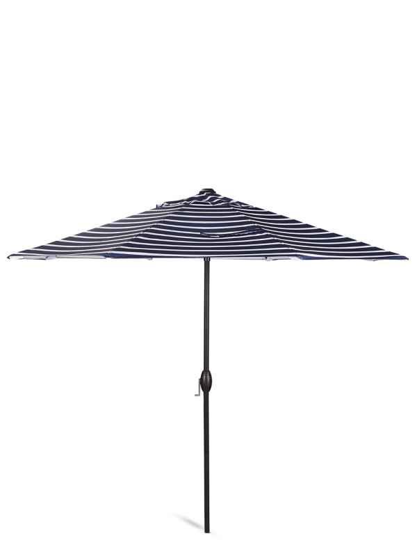 p60160652: Classic Stripe Parasol