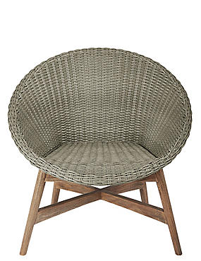 Capri Teak Chair - Grey