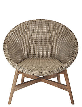 Capri Teak Chair - Dark Sand