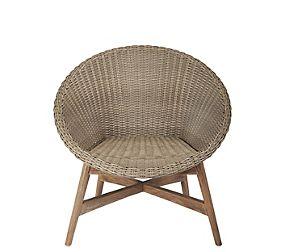 Capri Teak Chair - Dark Sand