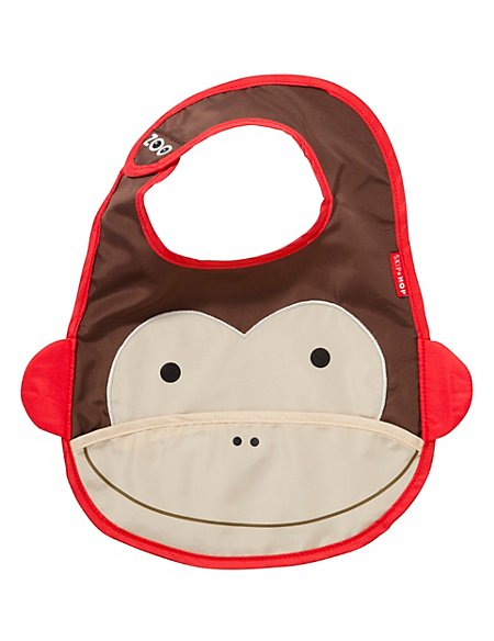 Zoo Bib - Monkey