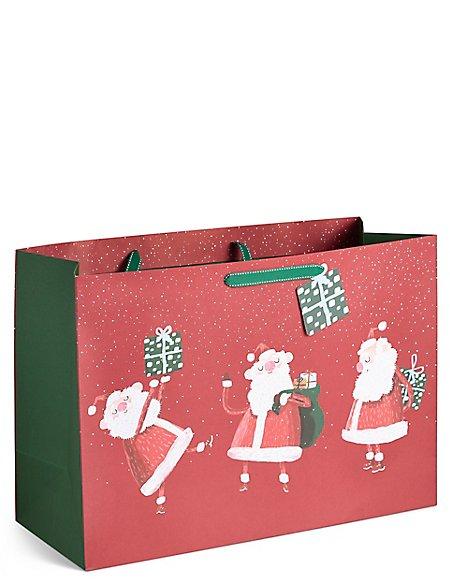 Santa Extra Large Christmas Gift Bag