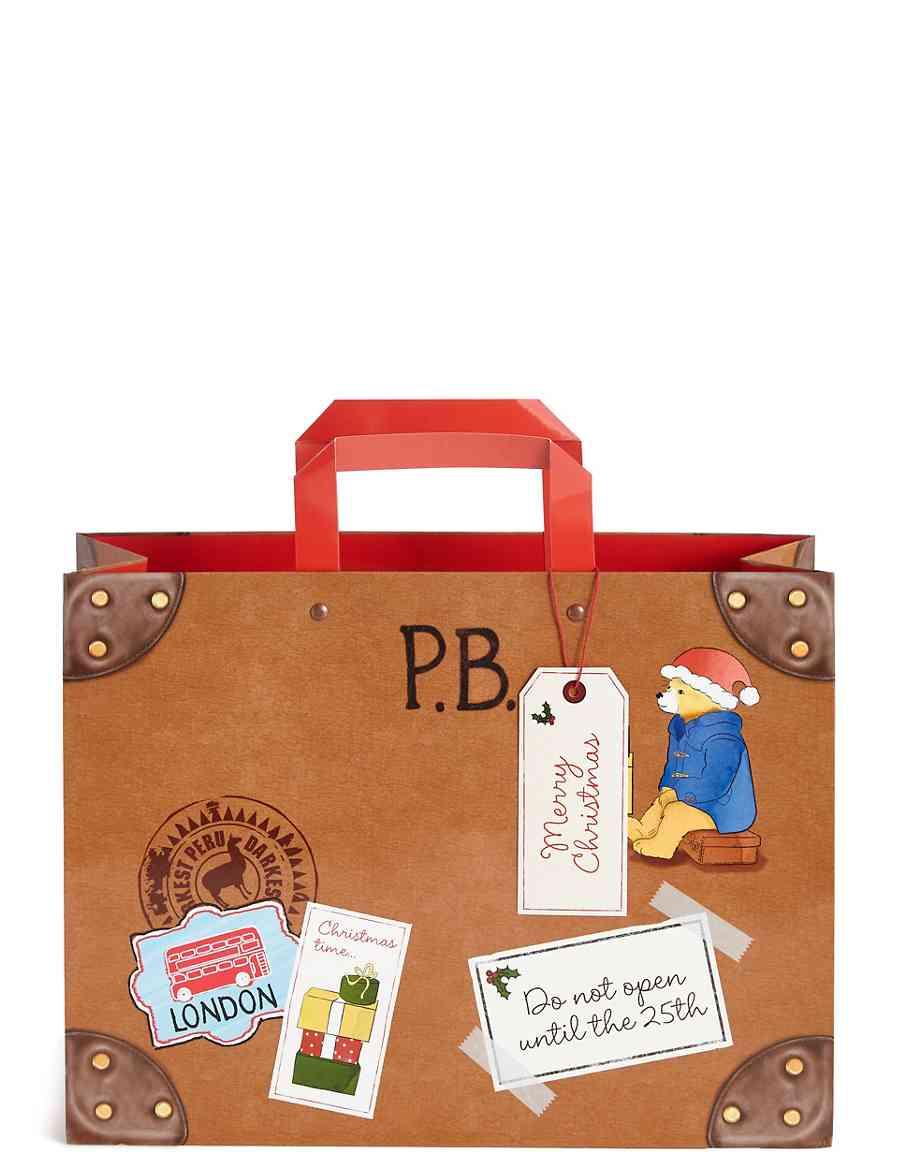 paddington large christmas gift bag