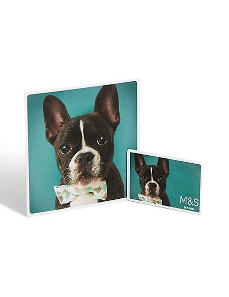 Dog Photo Gift Card