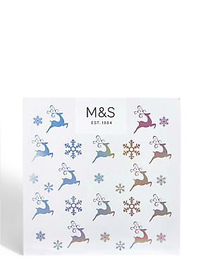Greeting cards occasion cards ms quick look reindeer snowflake gift card m4hsunfo