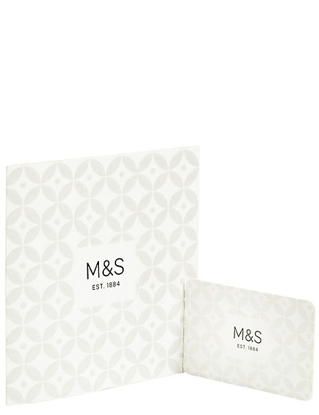 White Embossed Gift Card