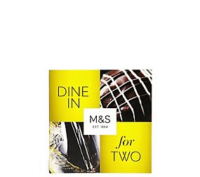 Dine in for Two Gift Card